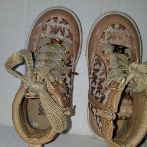 Michael Kors Tennis Athletic Shoes Toddler Size 9